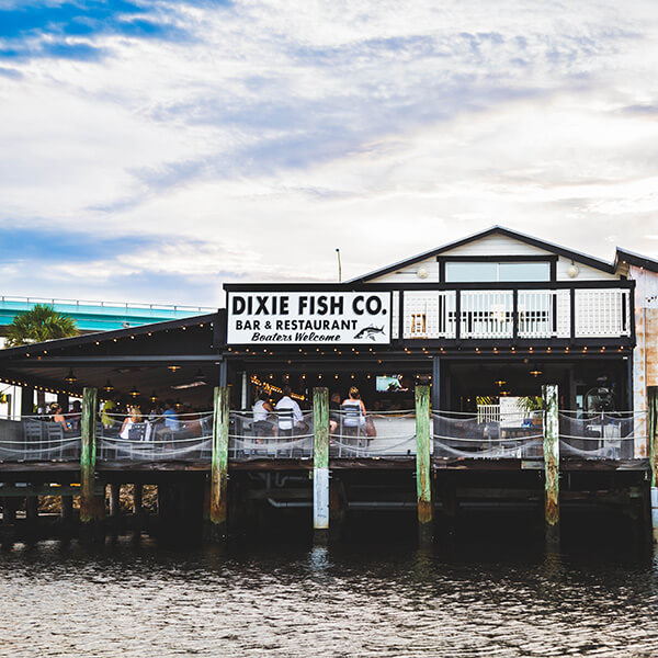 The Dixie Fish Co Ft Myers Beach Waterfront Live Music